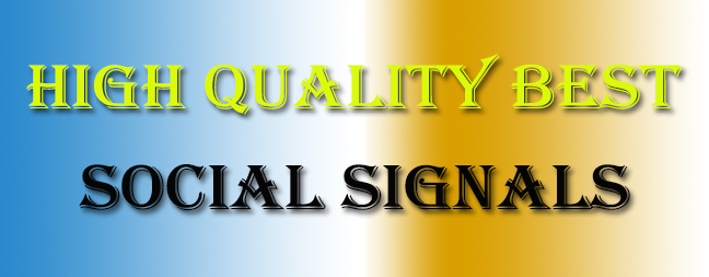 3500 High Best Quality Social Signals