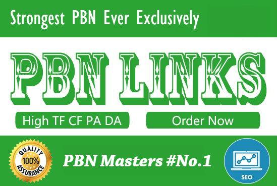Will Do 10 Manual Dofollow Pbn Backlinks