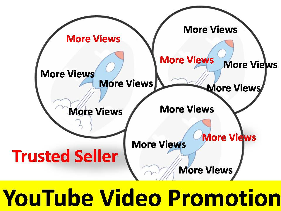 Get High Quality Video Marketing social Media Promotion for your Youtube video