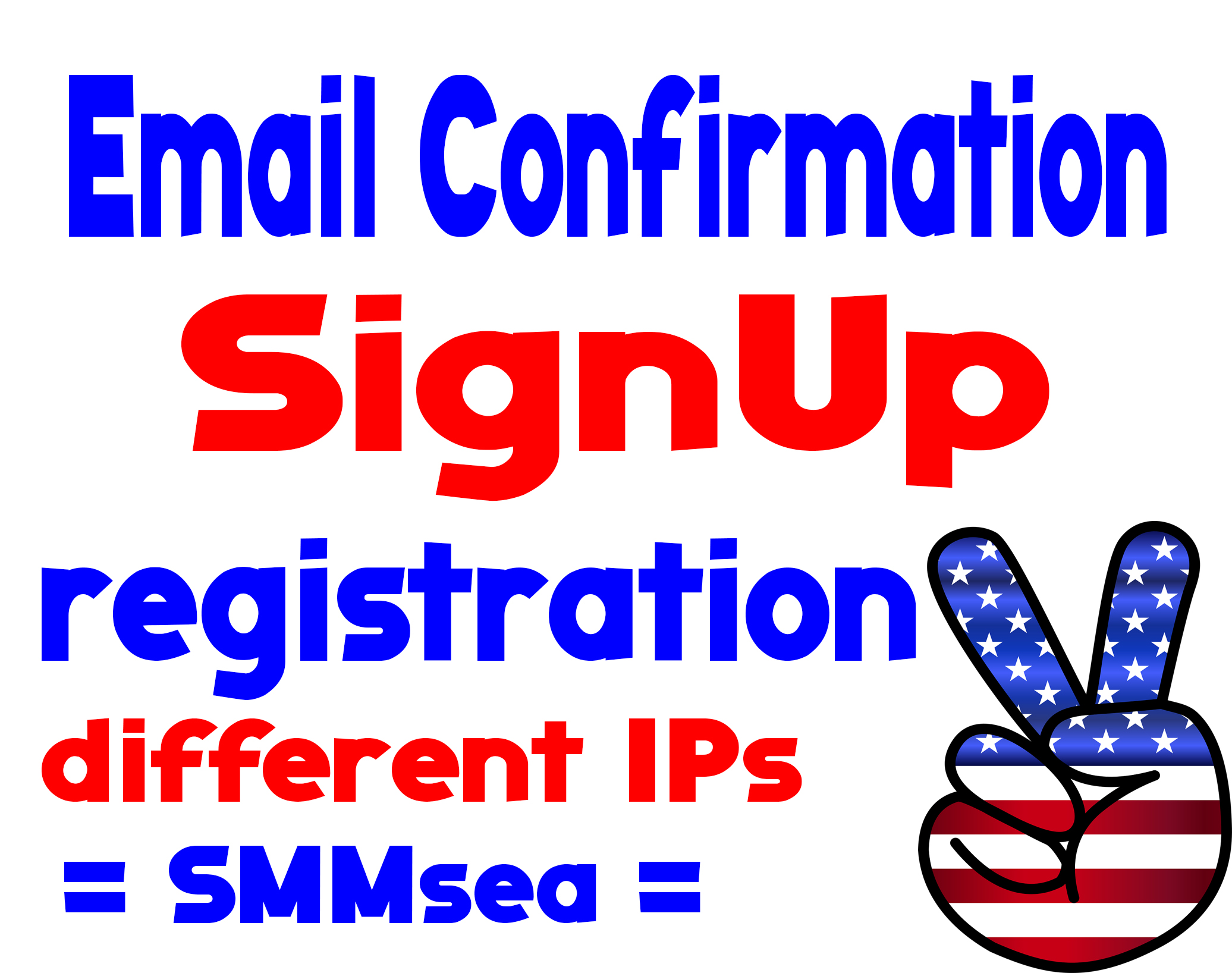 Give 100+ Registration, Signup or E-mail Confirmation Votes, Different IPs