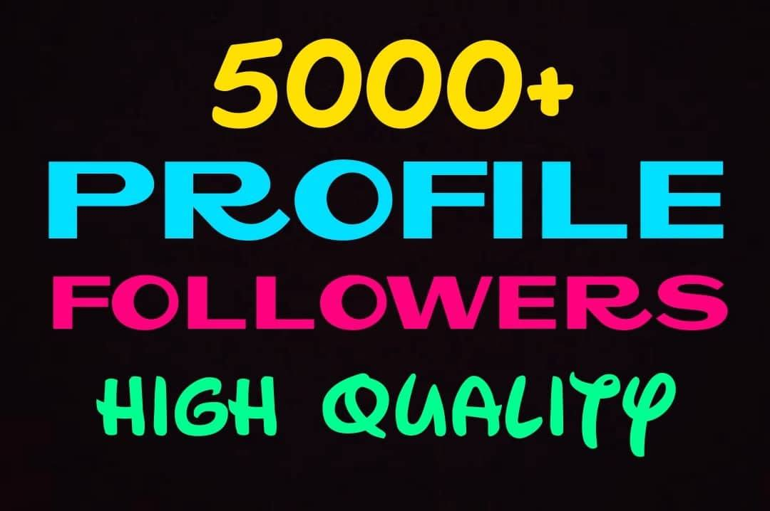 Do your profile promotion with HQ, real & active...