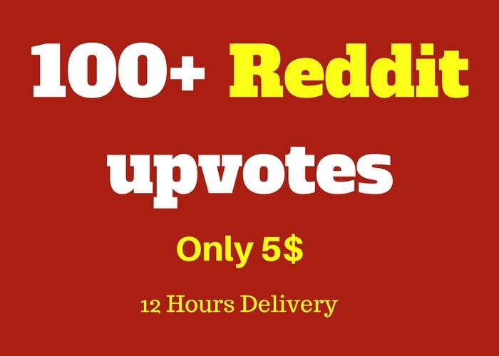 Provide you Instant 100+ Reddit Upvotes