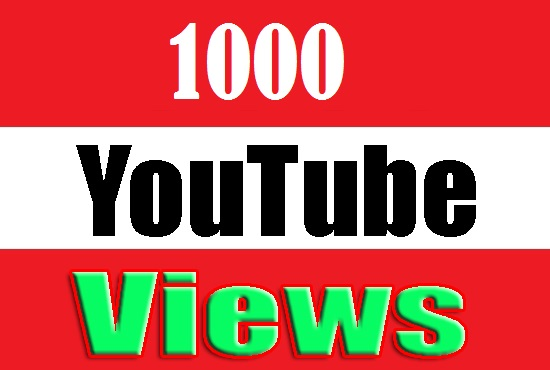add 1000+ high quality video views fast delivery only