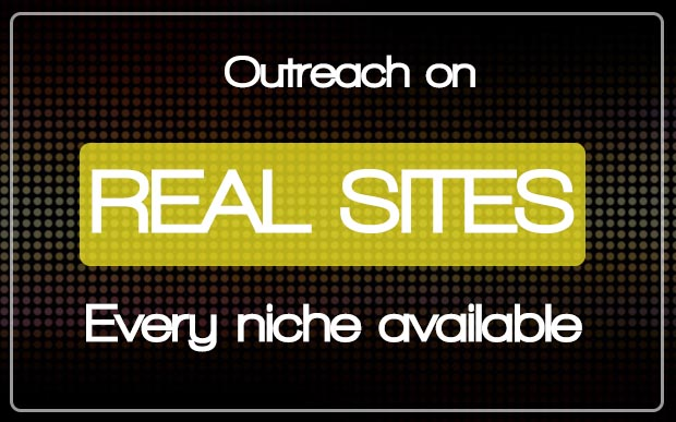 Editorial links - On Real Sites. Every Niche Available