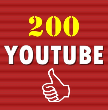 200 Youtube Video Likes Non Drop split link 4