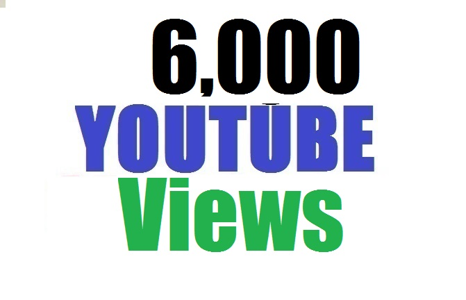 Limited offer 6,000 YouTube views non drop lifetime gurenteed 12-24 hours in complete