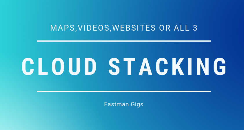 Cloud Stacking - SEO Backlinks - Video Embeds - Map Embeds