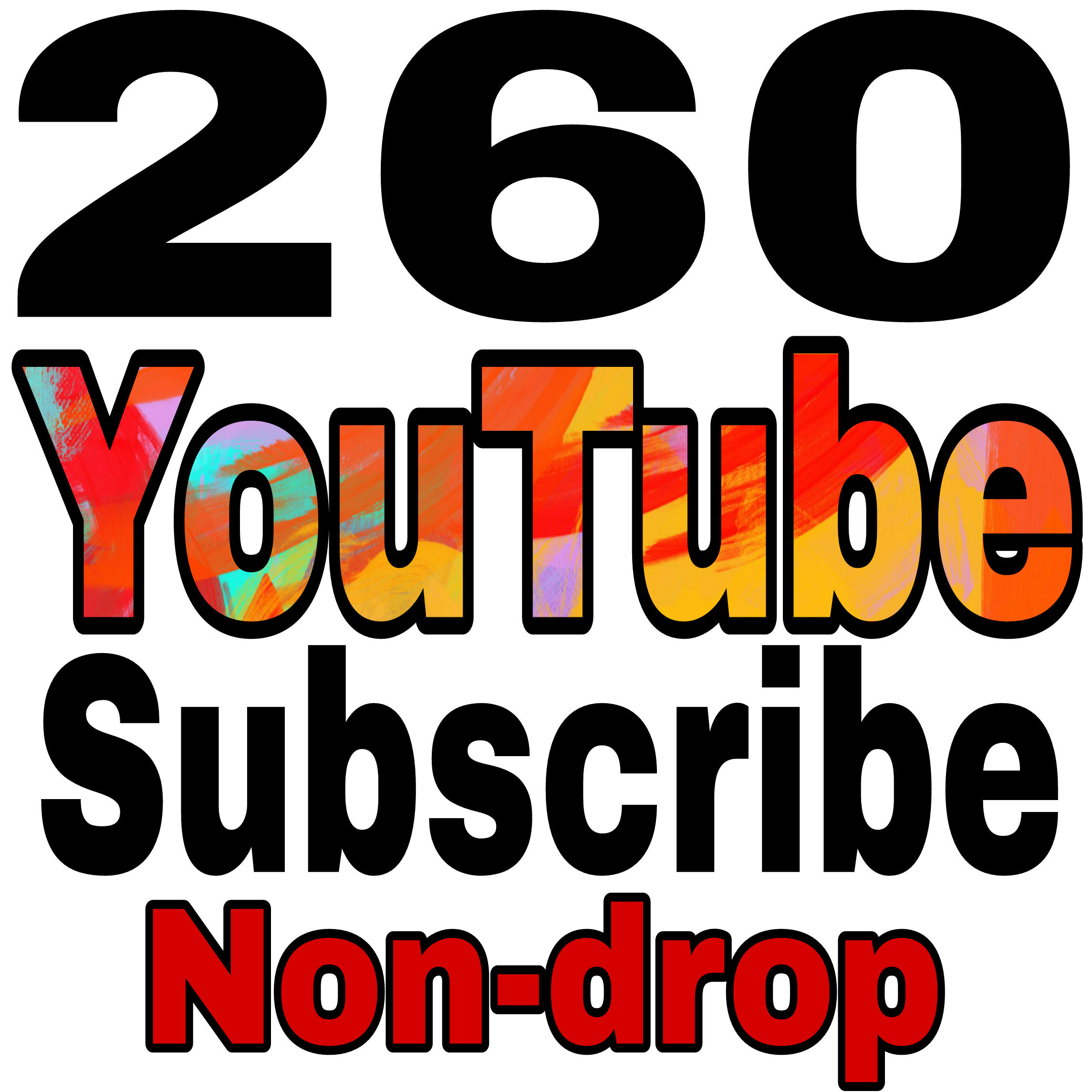 Safe add 450+Non drop YT channel Subs non drop Refill Guaranteed in 24-72 hours complete