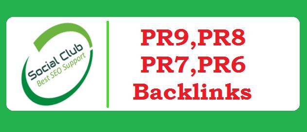 Get 30 Manually Create Penguin Safe PR9, PR8, PR7, PR6 Social Profile Backlinks