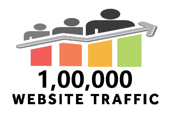 send 100,000 real worldwide web traffic, visitors to...