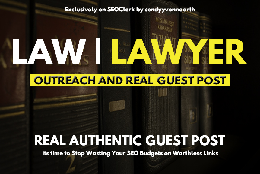 Guest post on law,  legal,  lawyer related blog
