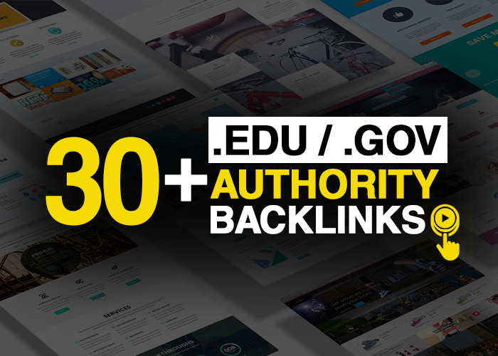 do 30+ Edu / Gov High Quality Authority Backlinks