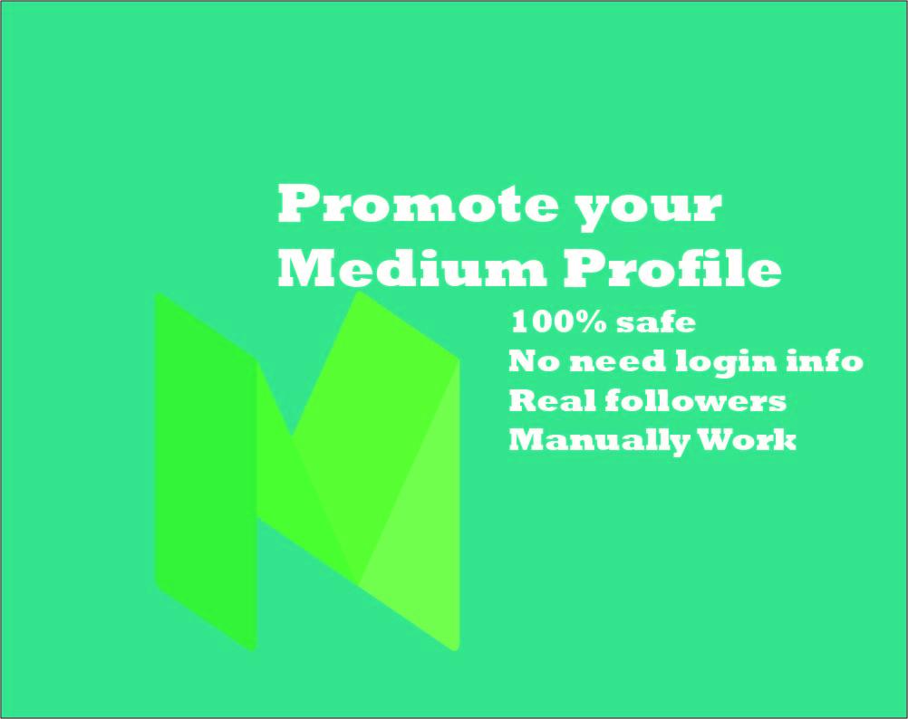 Get 100 HQ Based Medium UpVotes