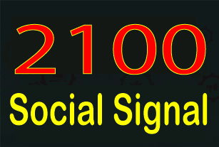 Rank your website with 2100 + Social Signals from onl...