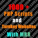 give you 1000+ Turnkey Websites & PHP Scripts Package with Master Resell Rights!