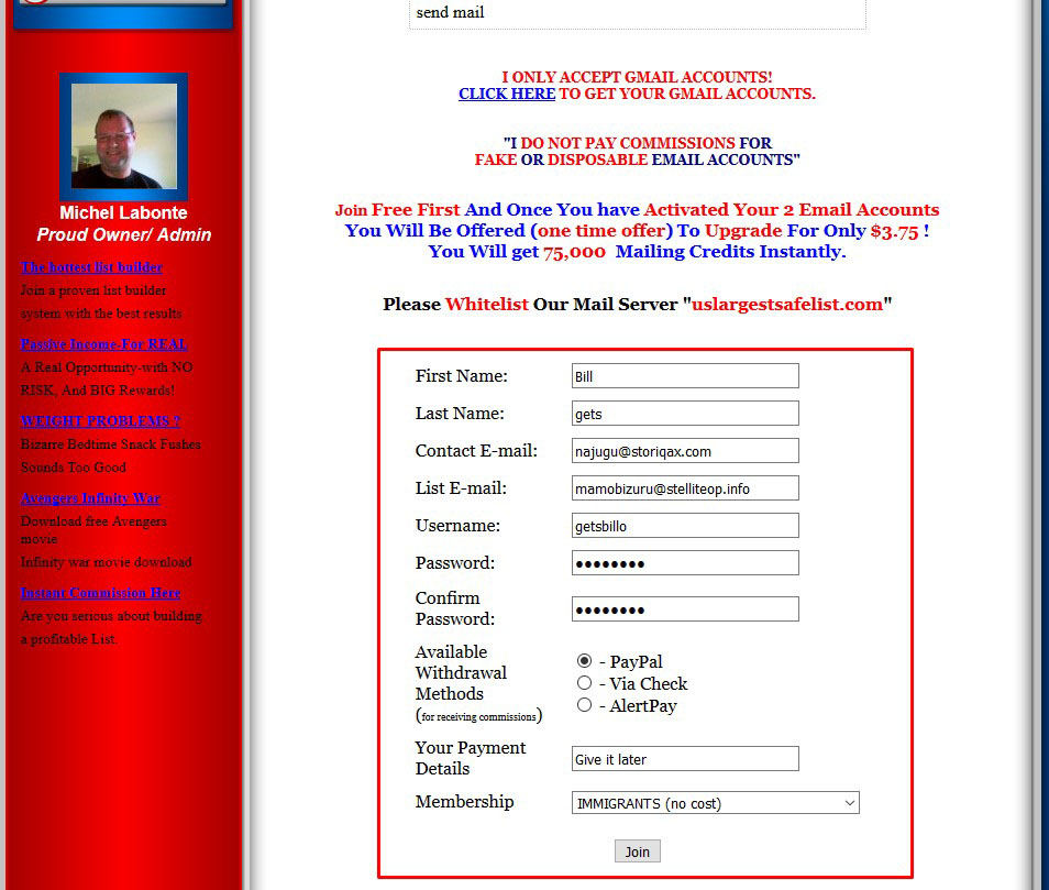 10+ Sign-up or Registration Service For Any Website With Different IPs