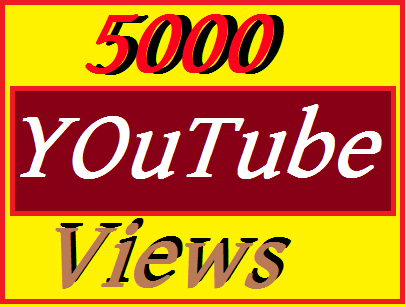 5000 YouTube views nondrop  Very fast 12-24 hours delivered