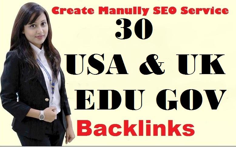 2018 Latest 30 USA & UK EDU GOV Domains With High Trust And High Domain Authority Backlinks