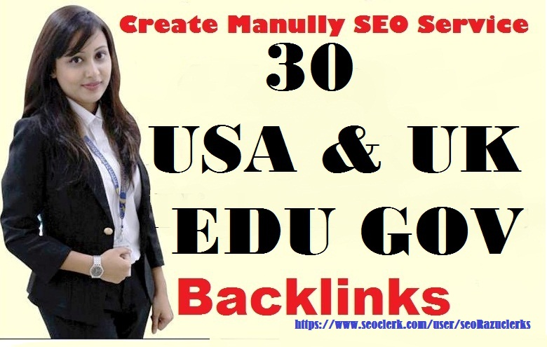 2018 Latest 30 USA & UK EDU GOV Domains With High Trust And High Domain Authority Backlinks