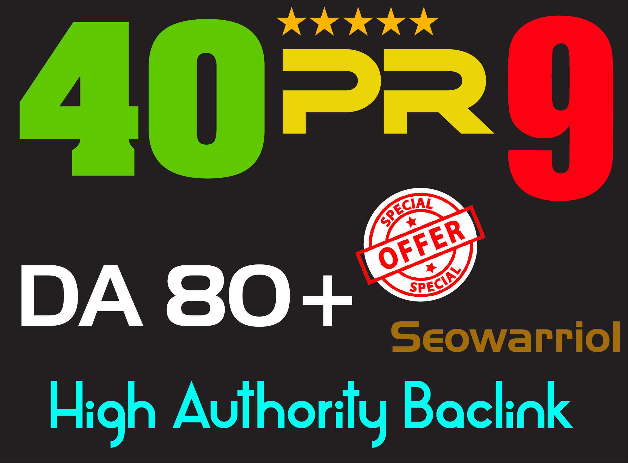 Elevate your seo Google Rankings with 40 PR9 DA 80+hi...