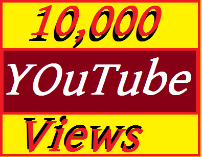 10,000+ Youtube Vi'ews Non Drop Refill Guaranteed and Instant start 3-7 hours Start