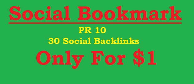 30 Manually Create Penguin Safe PR9, PR8, PR7, PR6 Social Profile Backlinks