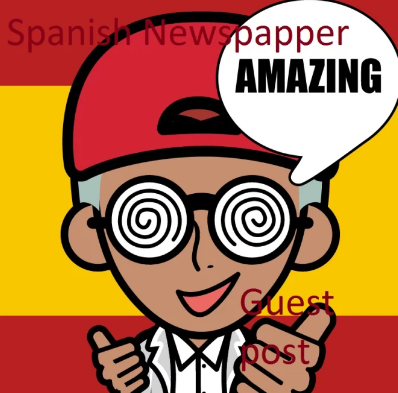 2 guest post NEWSPAPER backlinks Spanish  DA 59