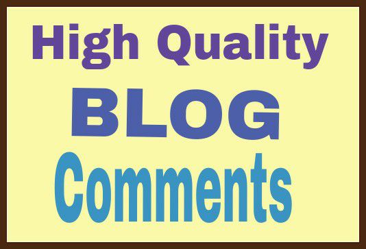 Offer  high quality  40 blog comment