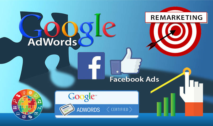 help with PPC display ads on google adwords and facebook ads
