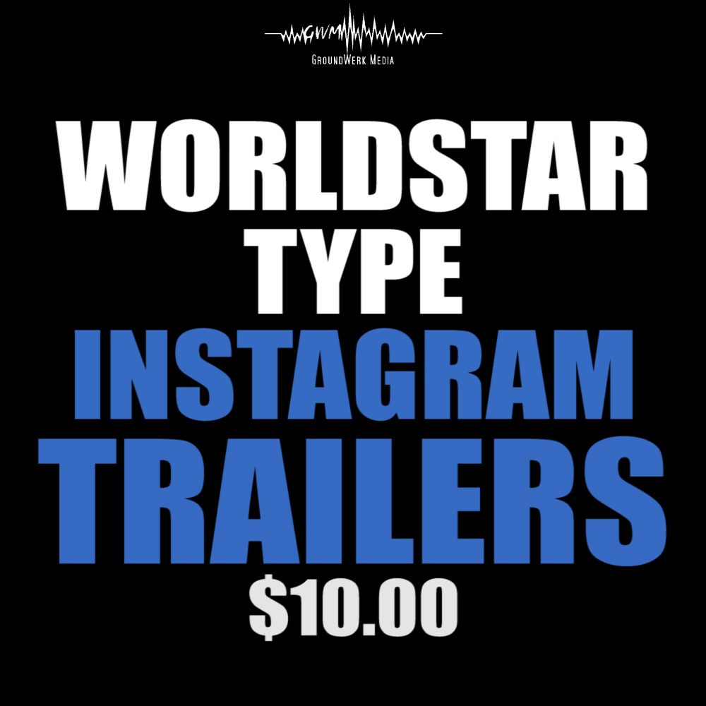 Design 5 'WorldStar type' Trailers For Your Video