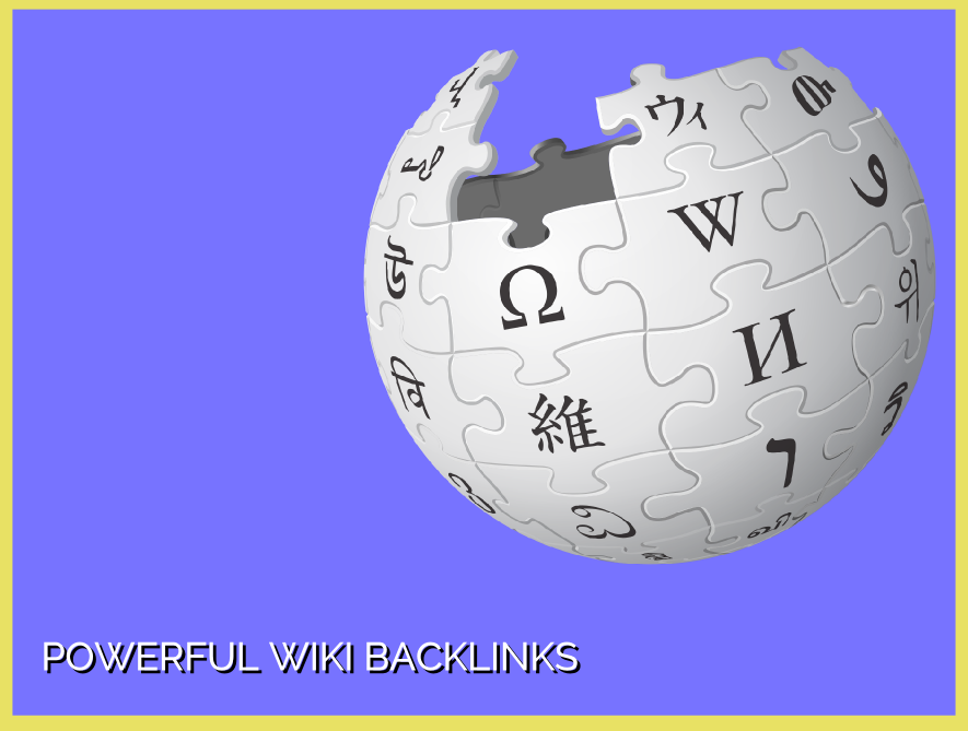 High Authority Wikipedia Backlink for better google ranking