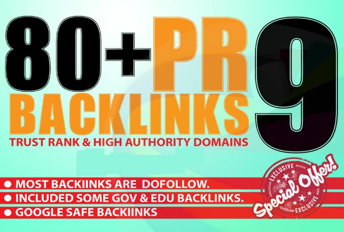 Create 80+ High Page Rank Pr DA 60-100 Google Safe Se...