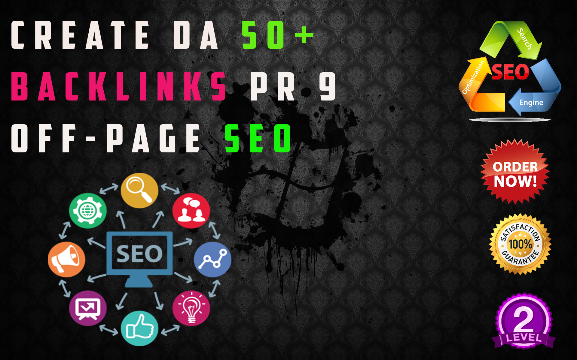 I make 10 High Pr Dofollow Seo Manual Da70 Backlinks Link Building