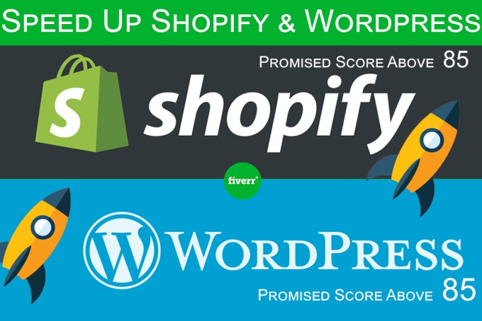 I do Speed Up And Optimize Your Wordpress Or Shopify Website
