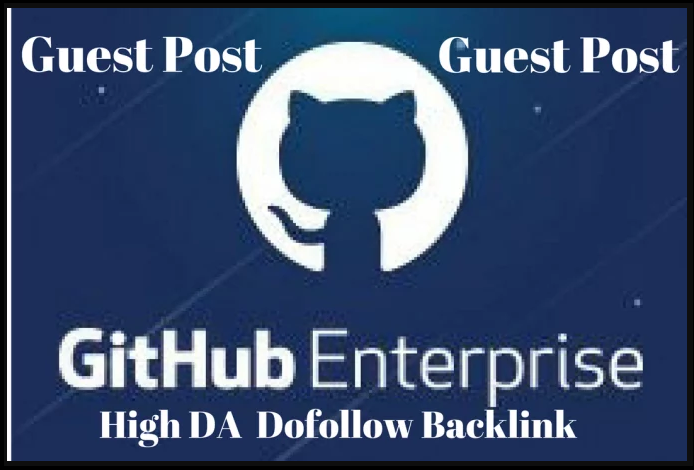 write and publish guest post on Github.com