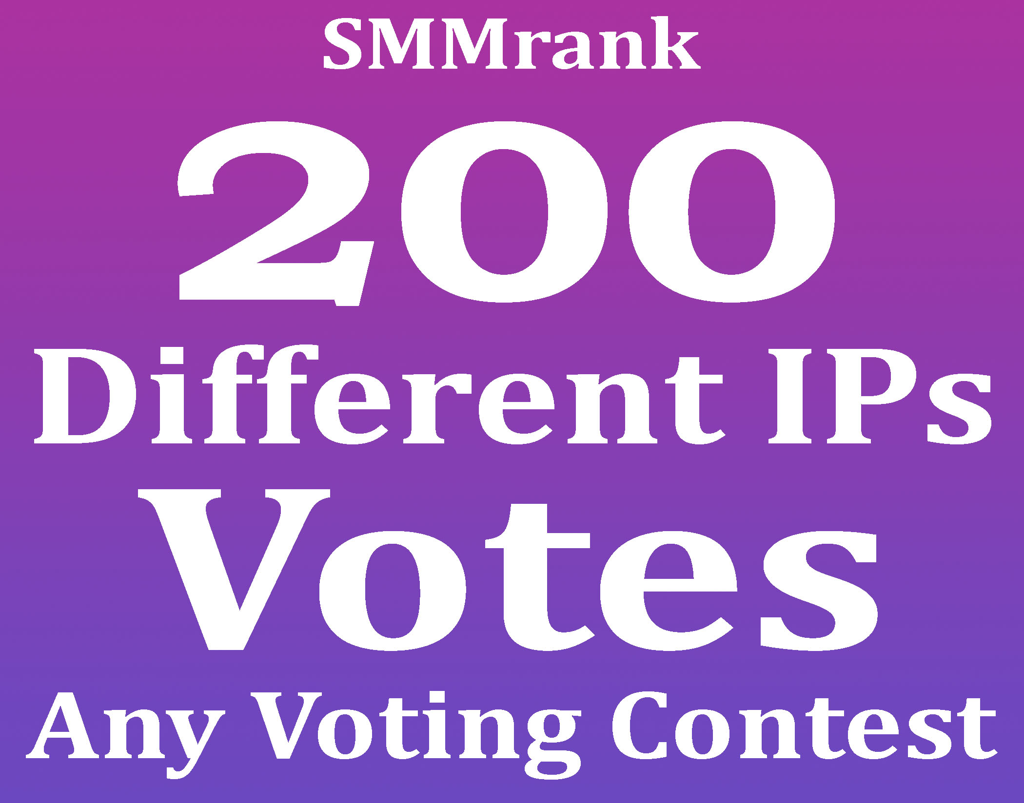 Instant 200+ USA Different IP Votes For Any Online Voting Contest