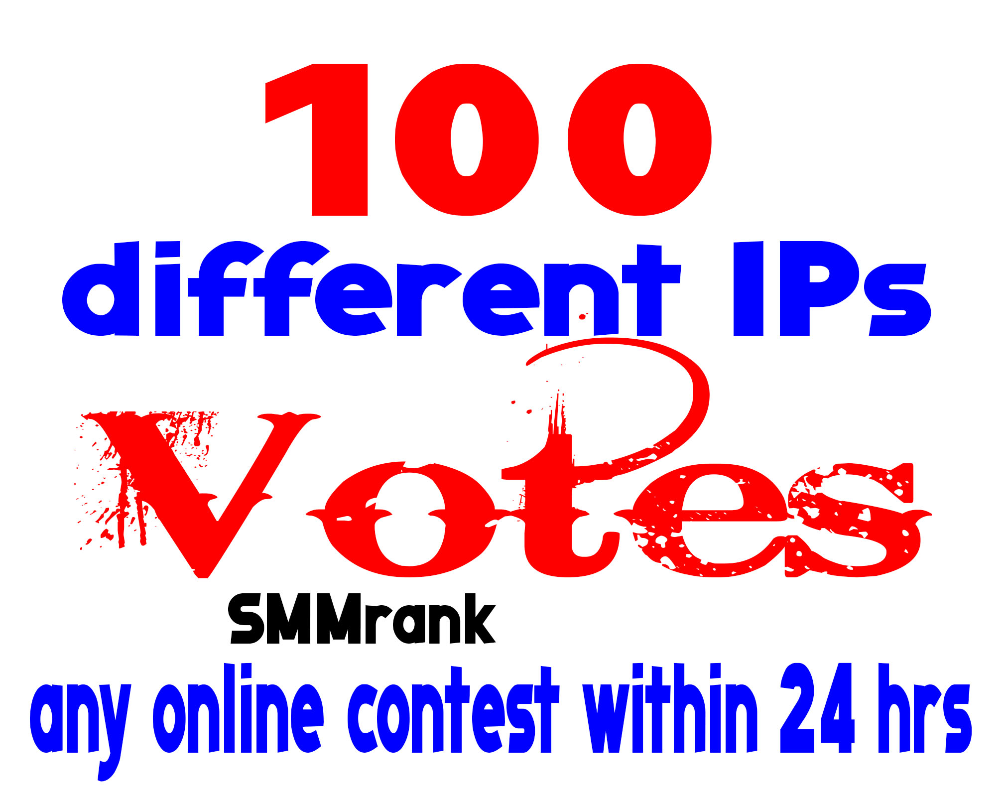 Give 100+ different IPs Votes for any voting contest within 12 hours