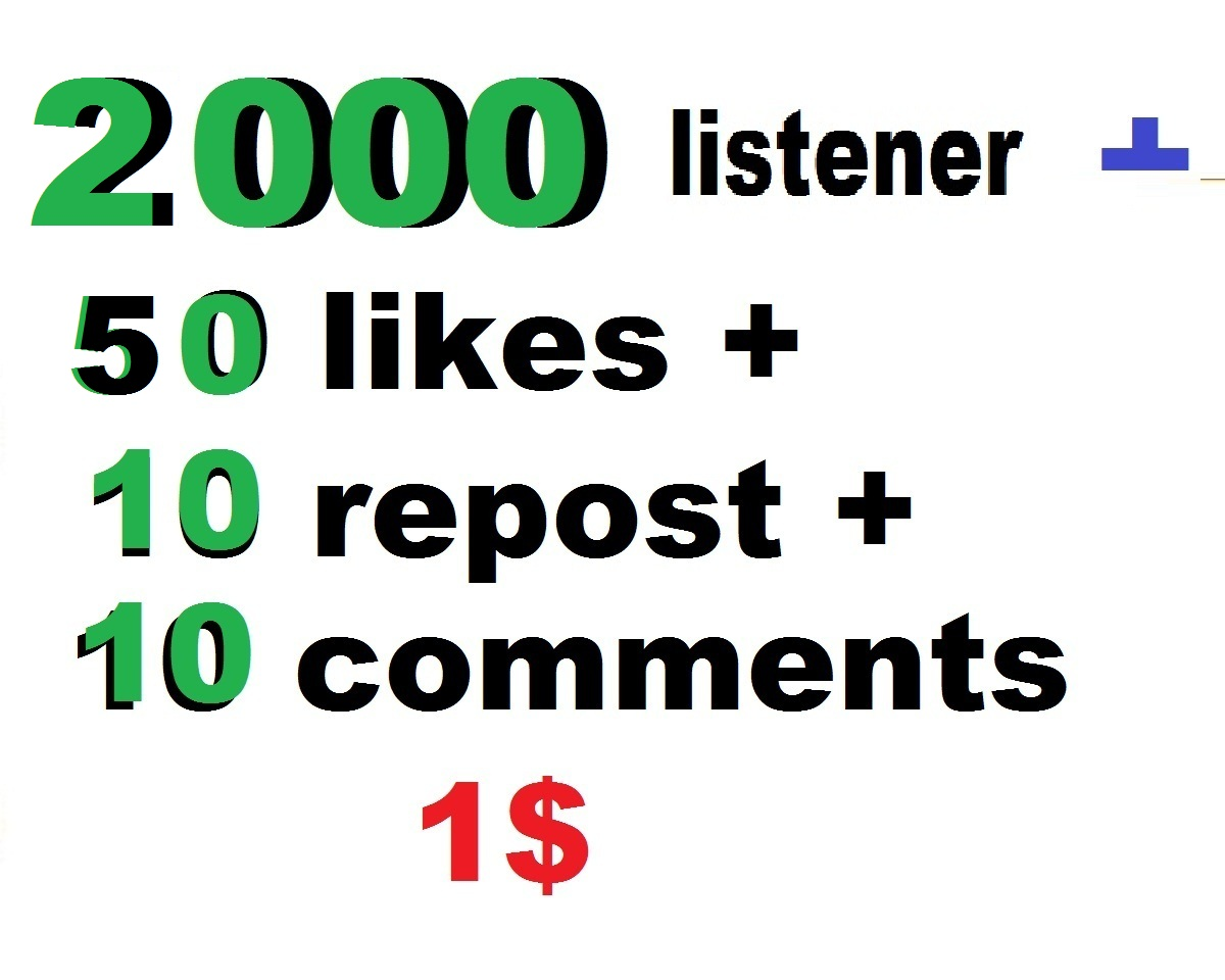 2000 USA music promotion with 50 like and 30 repost and 13 comments