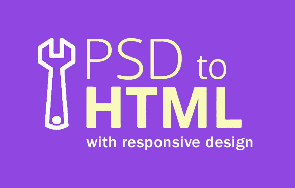convert you PSD to HTML responsive on all devices