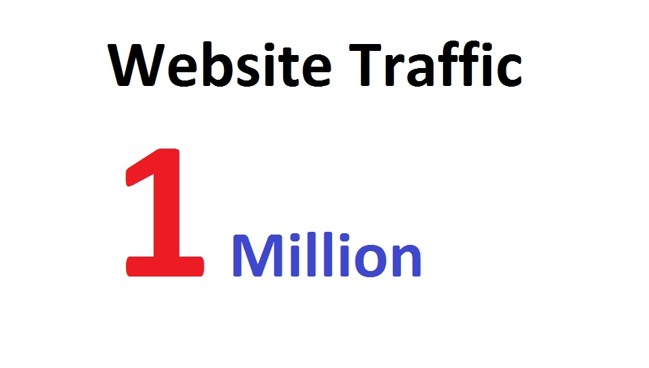 1 Million Targeted Human Traffic Visitors to your Website or Blog From Social Media