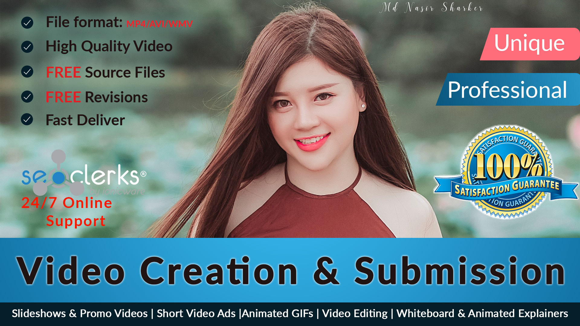 Do 20 High PR Sites Video Creation And Video Submissi...