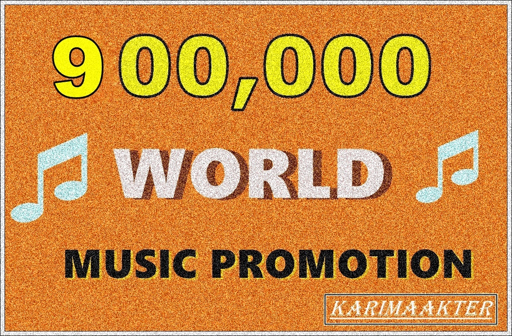 900,000 REAL HIGH QUALITY WORLD USA  MUSCI  PLAY/S  SPLIT LINK  WITH +25 LIKES +25 REPOST