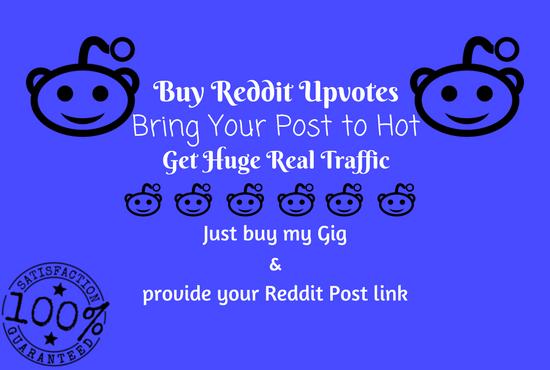Get Reddit Upvotes & Real Traffic