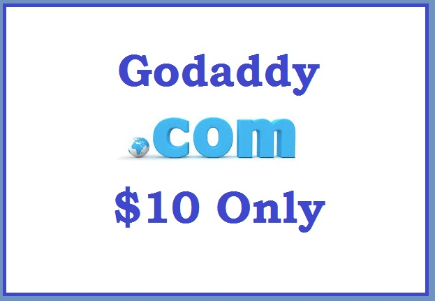 Get a .com domain name from Godaddy