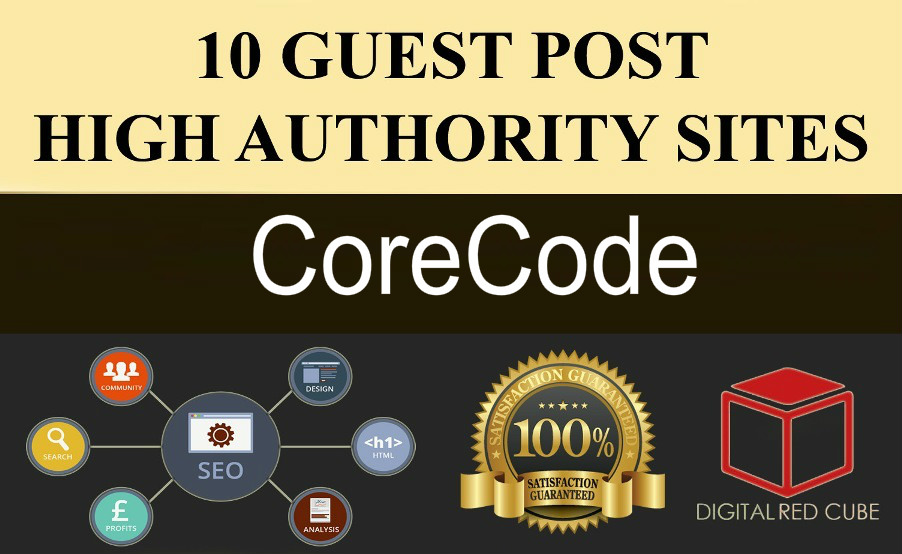 Write 1 Articles And Guest Post On 10 High Authority Websites