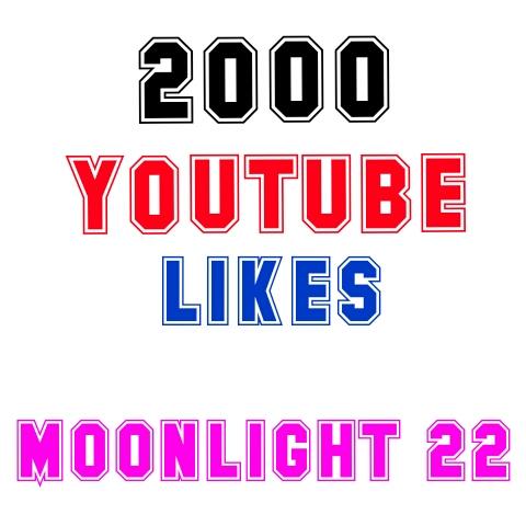 2000 YouTube Likes nondrop guaranteed