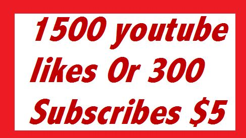 2000 or 2k very high quality nondrop  youtube likes