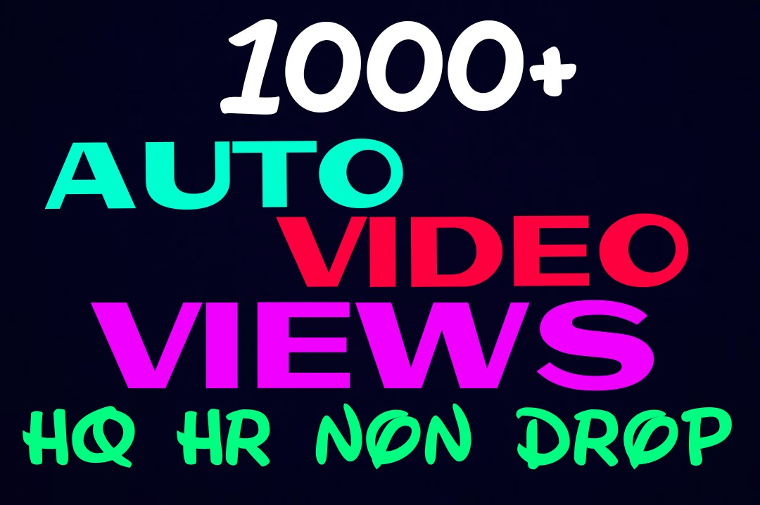 Provide 1000+ HQ and Non Drop Social auto Service Pro...