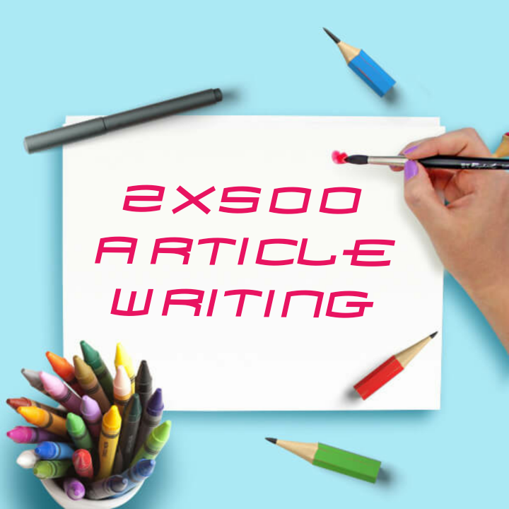 2x500 Articles For Your Websites And Blogs