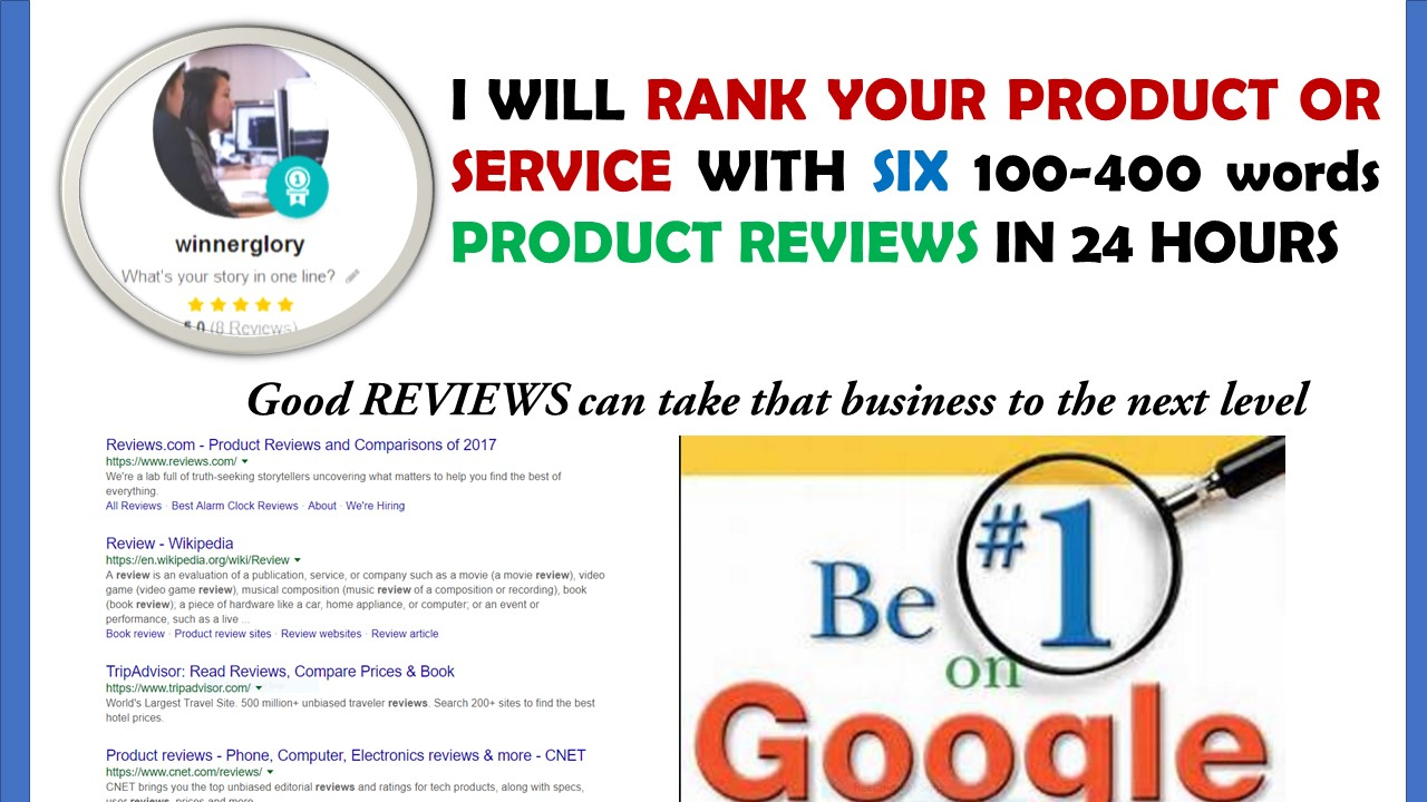 rank product or services in google my business with high quality reviews